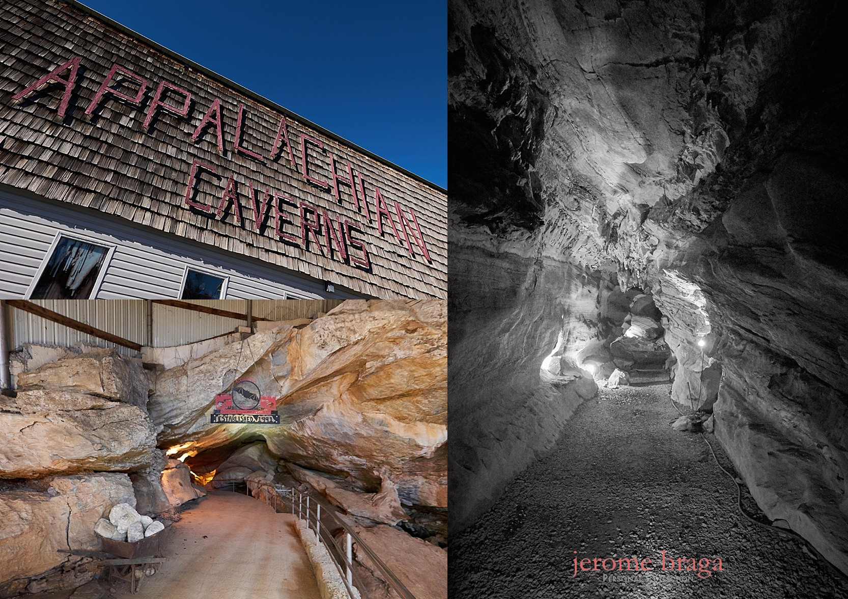 Tennessee Caverns, Appalachian Caverns, Photos