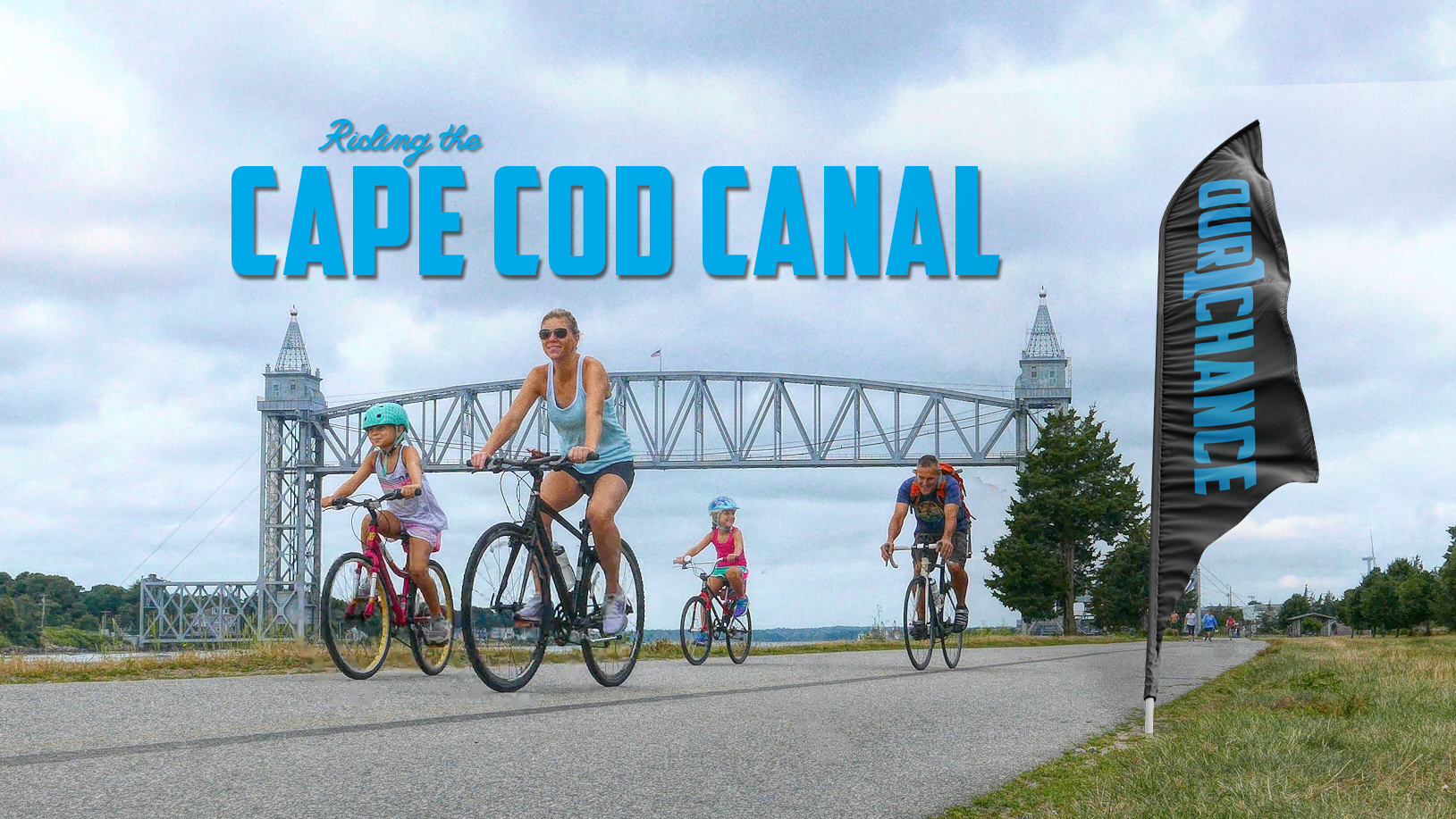 Bike Riding on The Cape Cod Canal